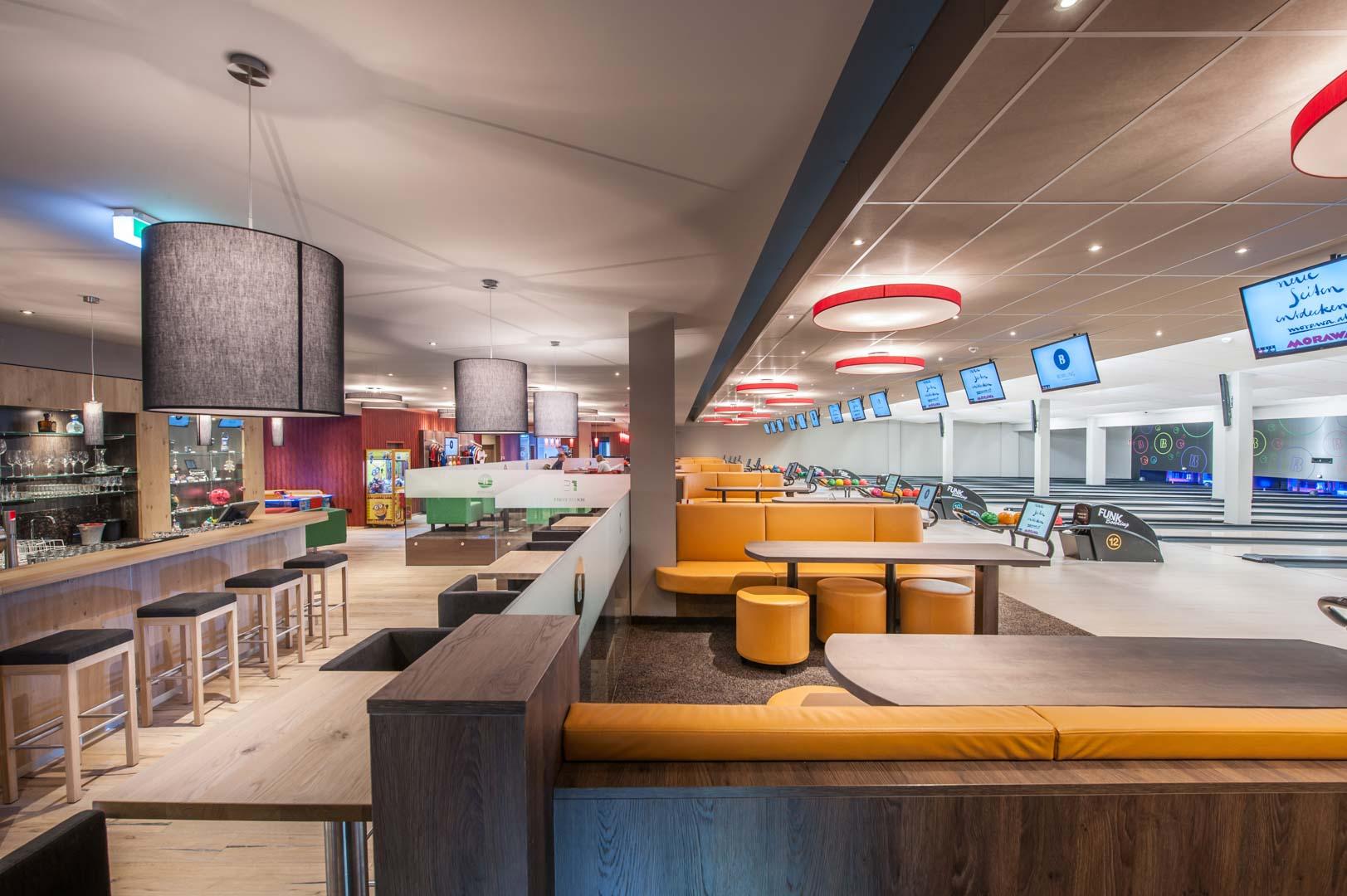 Design Ihres Bowling Center mit Funk Bowling