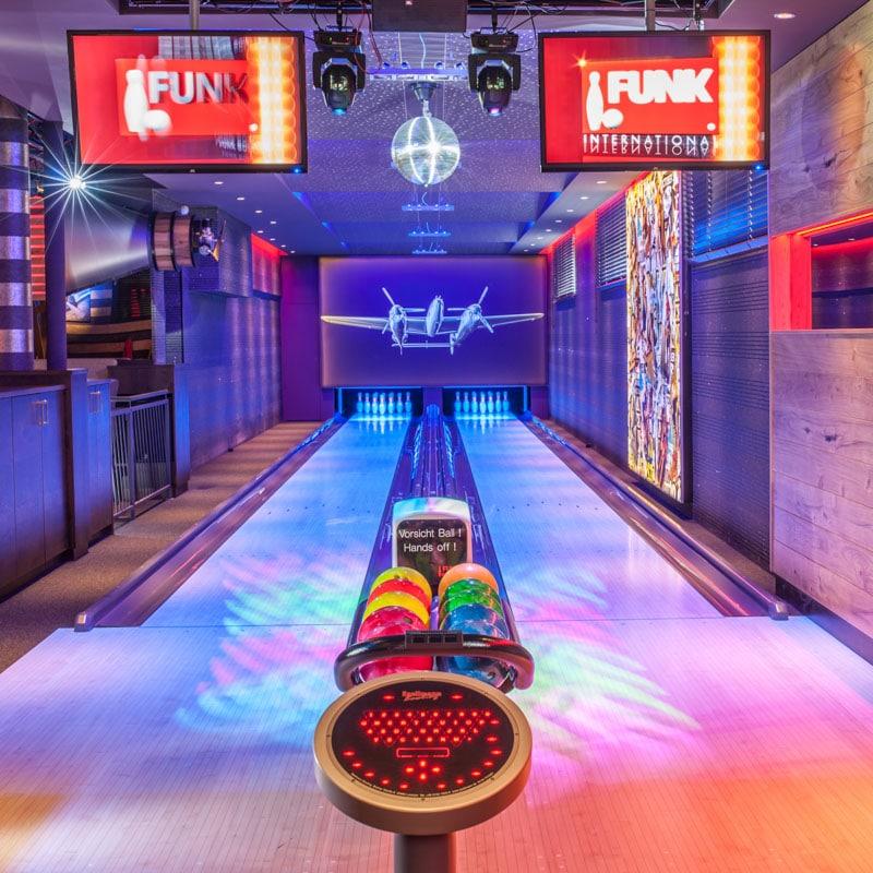 Bowlingbahn von Funk Bowling