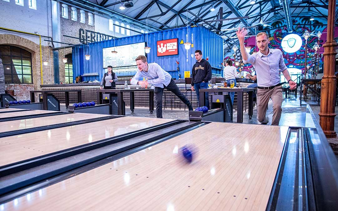 Was ist Duckpin Bowling?